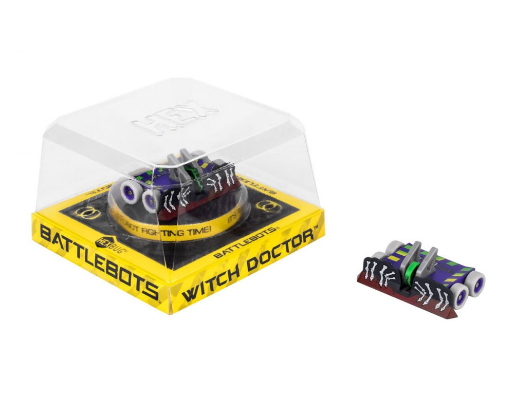 Hexbug BattleBots Push Strike – Witch Doctor