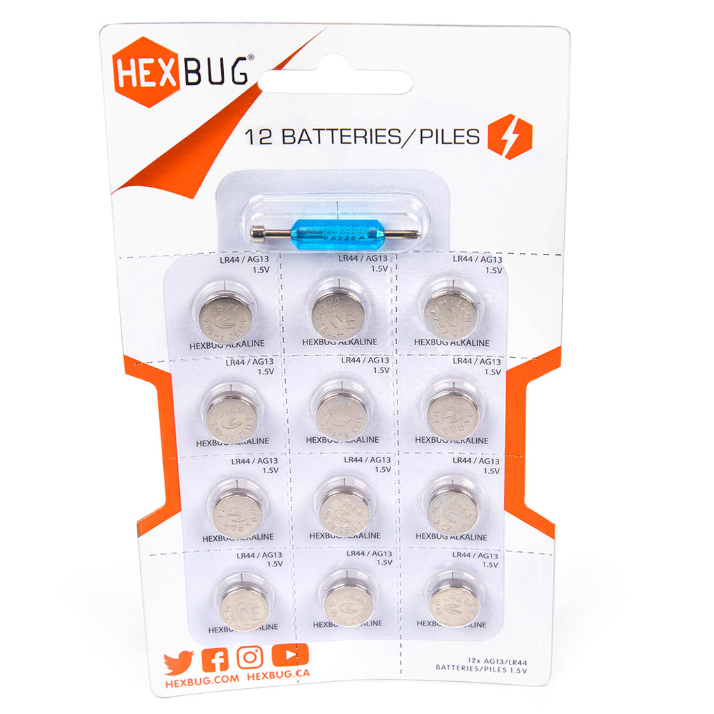 Hexbug Batterijen inclusief schroevendraaier